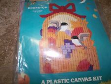"Titan  FALL BIRDS Doorstop Plastic Canvas Kit  7"" x 11"""