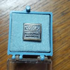 OLDER (1970'S) FORD MARKETING INSTITUTE TIE TAC~NEW IN BOX