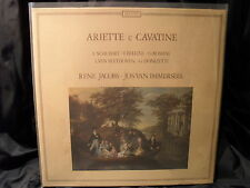 Ariette e Cavatine / Jacobs/van Immerseel