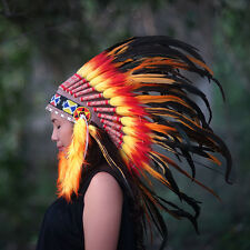 indian headdress costume, Native American Headdress, Chief Warbonnet Replica