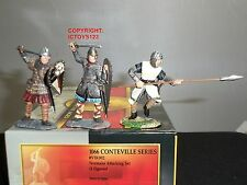 CONTE VIK002 VIKINGS 1066 CONTEVILLE NORMANS ATTACKING TOY SOLDIER FIGURE SET