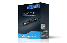 (506225) Sennheiser cable w/3-button in-line remote+integrated mic for momentum