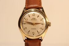 "VINTAGE RARE NICE MENS SWISS GOLD PLATED AUTOMATIC WATCH""ARSA"" 17 J./MOV.""FELSA"""