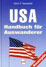 USA Handbuch para Emigrantes Consejos Mudanza Trabajar Aplicaciones Verde