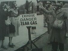 reprint picture ww2 gas alert in brighton