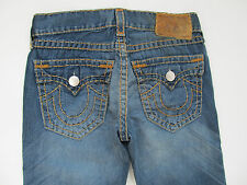 True Religion Billy Super T Medium Motor Jeans Hose Denim Neu 30