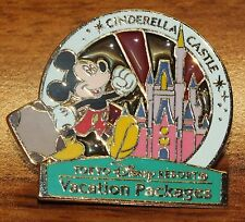 Tokyo Disney Resort Vacation Packages: Cinderella Castle Official Pin **READ**
