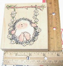 DAISY SWING 1727K BY PENNY BLACK MARGARET SHERRY RUBBER STAMP