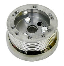 74-84 Chevy C10's, K10's, Suburbans  5/6 Hole Polished Steering Wheel Adapter