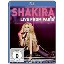 "SHAKIRA ""LIVE FROM PARIS""  BLU-RAY NEU"