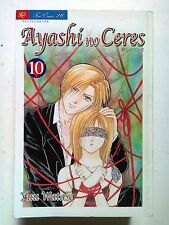 Ayashi no Ceres Deluxe n. 10 di Yuu Watase * Fushigi Yugi * NUOVO ed. Play Press