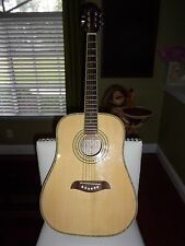 "OSCAR SHMIDT WASHBURN ACOUSTIC GUITAR 37"" LONG AND 13 3/4 WIDE"