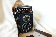 ROLLEICORD  TLR 75MM F4.5 TRIOTAR CARL ZEISS JENA + CASE + FREE UK POSTAGE