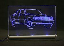 LED Leuchtschild - graviert ist 190er w201 190 AutoGravur