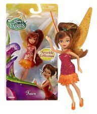 "DISNEY FAIRIES: SPARKLE COLLECTION  FAWN 4.5"" DOLL NEW IN PACKAGE"