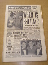 MELODY MAKER 1958 MAY 10 STEREOPHONIC MARIE KNIGHT JOHNNIE RAY LONNIE DONEGAN +