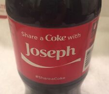 Share a COKE with Joseph 20 fl oz Collectible Bottle RARE Coca-Cola  10/26/15