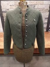 Vintage Giesswein Sweater Jacket Boiled Wool Austria Coat Tirol Button Front 38