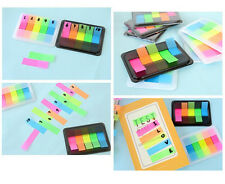 Neon Sticky Notes Post It Page Markers Flags Pad&Index Tabs Book Organiser