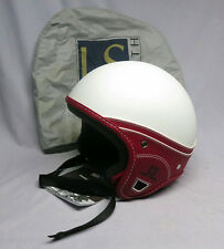 Laura Smith LS DOT Approved Scooter Motorcycle Helmet Trendy Red/White XL Italy
