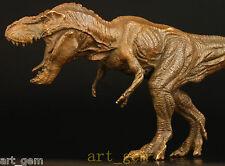 LARGE BRONZE STATUE JURASSIC EMPEROR TYRANNOSAURUS DECORATION  dinosaur
