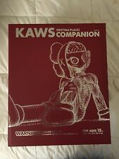 Medicom Kaws Companion Resting in Place OG/Brown/Red NEW IN BOX 100% Authentic