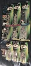 STAR WARS POWER OF FORCE FREEZE FRAME 9 EACH  FIGURES NEW