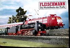 Catalgo Fleischmann 1988-89 in scala H0 - DEU - Tr.13