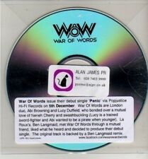 (CJ10) War Of Words, Panic - DJ CD