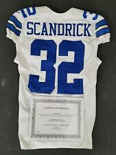 #32 Orlando Scandrick of the Dallas Cowboys Game Used/Player Worn Jersey w/COA