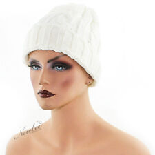 NEW Unisex Women Men Knit Baggy Beanie Beret Hat Winter Warm Oversized Ski Cap