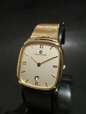 C22 NEW Unisex JB Champion Gold Mesh Gold Dial Dress Classy Date Watch Japan Mvm