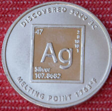 1x 1/10 oz Ag Periodic Table Silver - 999 pure silver