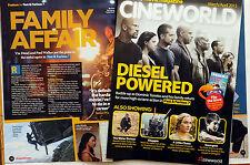 CINEMA MAGAZINE - FAST AND FURIOUS 7 - VIN DIESEL PAUL WALKER