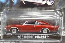 DODGE CHARGER R/T 1968 METALLIC RED 27740 1:64 GREENLIGHT NEW ANNIVERSARY SER 1