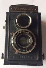 Vintage Voightlander Brilliant Twin Lens Reflex Camera