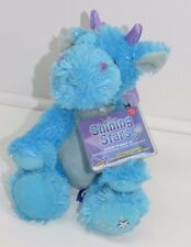 Shining Stars Blue Dragon WInged Dino NEW With Codes Plush Stuffed Animal Russ