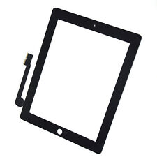 Touch Screen Digitizer Glass Fit for iPad 3 3nd A1416 A1430 Replacement Black