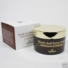 [The Skin House] Wrinkle Snail System Cream 100ml Nutrition healing Snail Cream