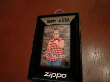 LARRY THE CABLE GUY GIT - R - DONE CAMO ZIPPO LIGHTER MINT IN BOX