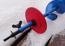"""Ice Fishing 6.75"""" Auger Stopper Disc (Drill Adaptor NOT included) Prevents Loss!"""