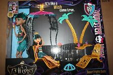 Monster High Doll Play Set Desert Frights Oasis Cleo De Nile 13 Wishes 2012 NRFB