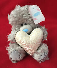 "ME TO YOU BEAR TATTY TEDDY 7"" GOLD HEART BEAR - WEDDING - ANNIVERSARY GIFT"