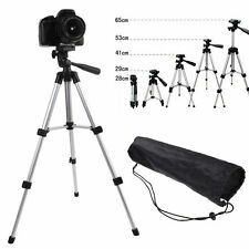 Flexible Portable Aluminum Tripod Stand w/ Bag For Canon Nikon Camera Camcorder