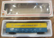 Vintage Bachmann Ho Scale Lunx 70254 Netherlands Overseas Mill Box Car Orign
