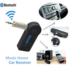 3.5 mm AUX Bluetooth Wireless Audio Stereo Musica Casa Auto Ricevitore Adattatore mic