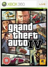 Grand Theft Auto IV (Xbox 360) VERY GOOD CONDITION - MANUAL, MAP - FREE UK POST