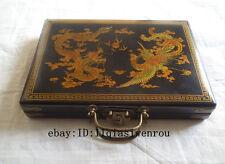 Chinese 144 Mah-Jong Set/&Bamboo Piece with box