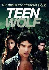 Teen Wolf . The Complete Season 1 + 2 . Tyler Posey Crystal Reed . 6 DVD . NEU