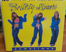BRITNEY SPEARS SOMETIMES 1999 POP CD SINGLE B/W I'M SO CURIOUS